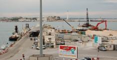 Porto di Bari veduta Marisabella