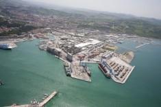 veduta porto ancona