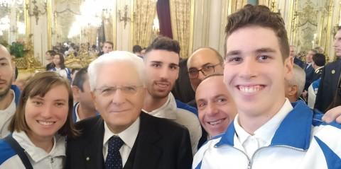 xenia-francesca-palazzo-e-stefano-rai-mondi-con-il-presidente-mattarella
